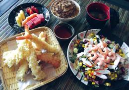 Menu tempura